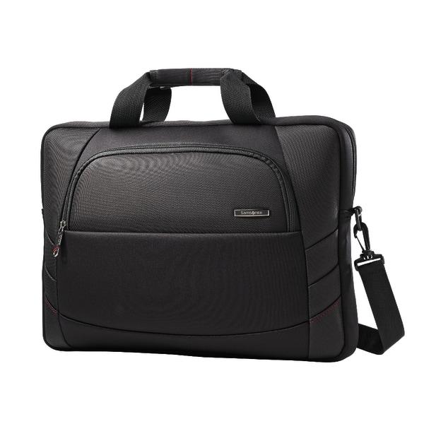 Samsonite Xenon 2 Slim Briefcase Laptop Bag For Laptops Up To 17.3 , Black