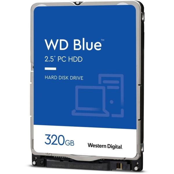 Western Digital Blue 320GB Internal Hard Drive For Laptops, 16MB Cache, SATA/600, WD3200LPCX