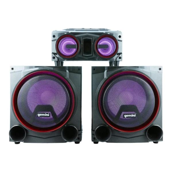 Gemini GSYS-4000 - Party speaker system - wireless - Bluetooth