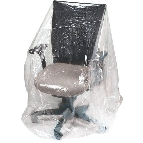 Office Depot Brand Plastic Furniture Covers, 1-Mil, 28  x 17  x 76 , 210 Per Roll