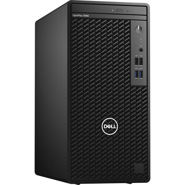 Dell OptiPlex 3000 3080 Desktop Computer - Intel Core i5 10th Gen i5-10505 Hexa-core 3.20 GHz - 8 GB RAM DDR4 SDRAM - 256 GB NVMe M.2 PCI Express M.2