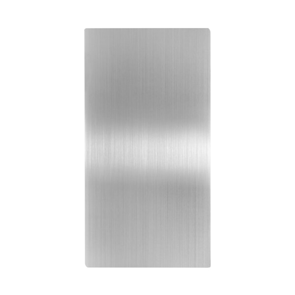 Alpine Electric Hand Dryer Wall Guard, 31-3/4  x 15-3/4 , Stainless Steel