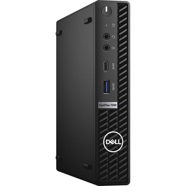 Dell OptiPlex 7000 7090 Desktop Computer - Intel Core i7 i7-10700T Octa-core 2 GHz - 16 GB RAM- 256 GB M.2 PCI Express NVMe 3.0 x4 SSD - Micro PC - Wi