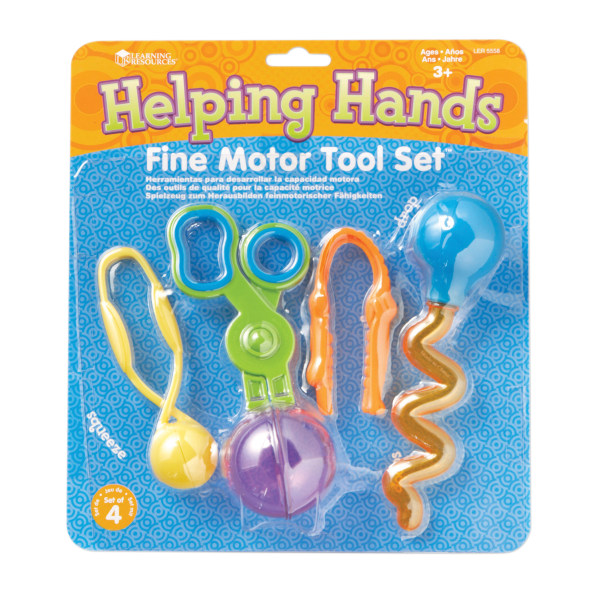 Learning Resources Helping Hands Fine Motor Tool Set, Pre-K - Grade 3