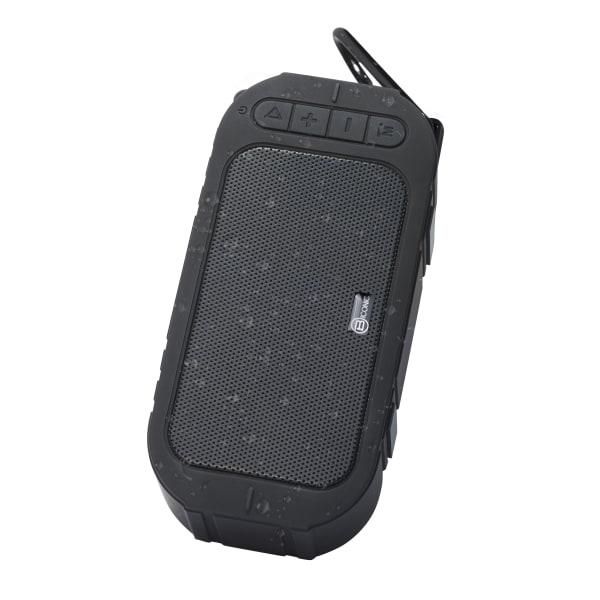 Bytech Portable Water-Resistant Wireless Speaker, Black, BCAUBS140BK