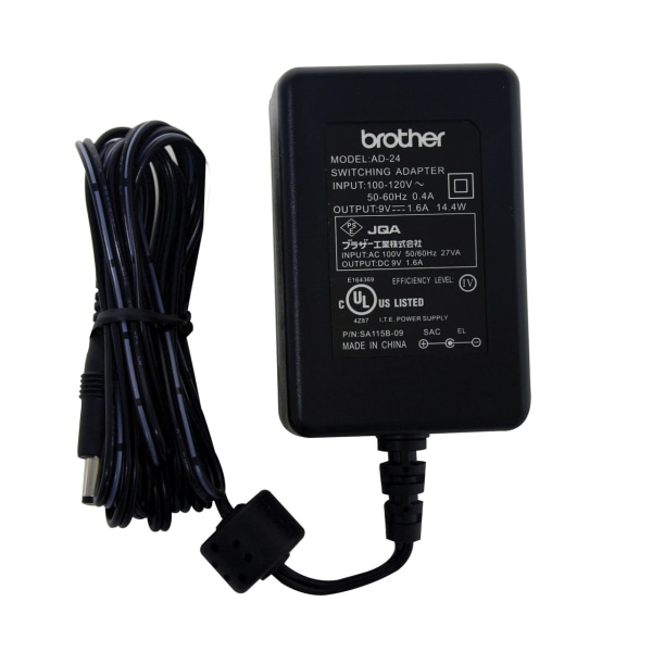 Brother AD-24 Labeling Machine AC Adapter