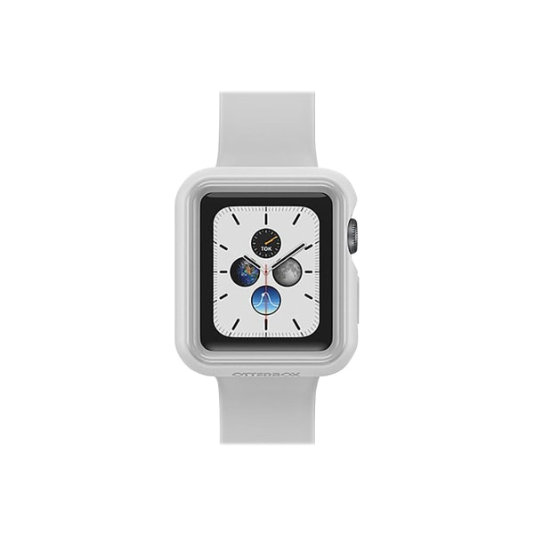 OtterBox EXO EDGE - Bumper for smart watch - polycarbonate, TPE - pacific gloom gray - for Apple Watch (38 mm)