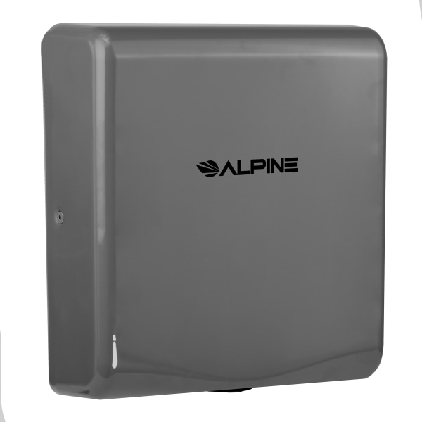 Alpine Willow Commercial High-Speed Automatic 120V Electric Hand Dryer, Gray