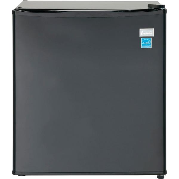 Avanti AR17T1B 1.70 Cubic Foot Refrigerator - 1.70 ft - Auto-defrost - Reversible - 1.70 ft Net Refrigerator Capacity - Black - Wire Shelf