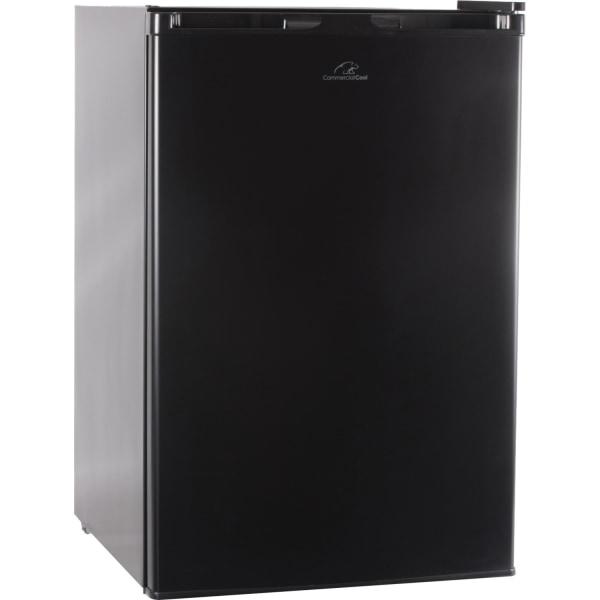 Commercial Cool 4.5 Cu Ft Compact Refrigerator/Freezer, Black