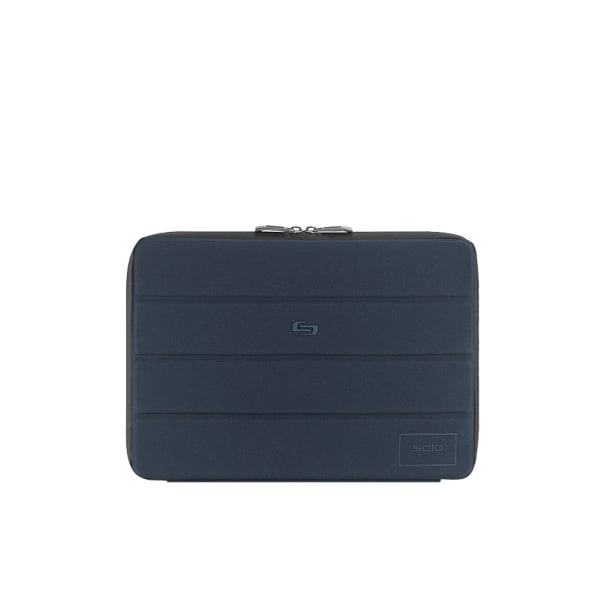 Solo Bond Laptop Sleeve For 13.3  Laptops/Tablets, 9-1/2 H x 13-3/4 W x 1 D, Blue