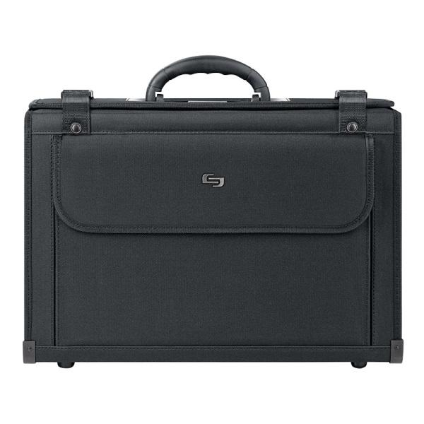 Solo Classic Catalog Case For 16  Laptops, Black