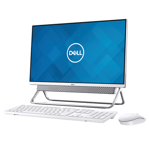 Dell Inspiron AIO 5490 (I5490-5322SLV) 23.8″ Touch All-In-One Computer, 10th Gen Core i5, 8GB RAM, 512GB SSD