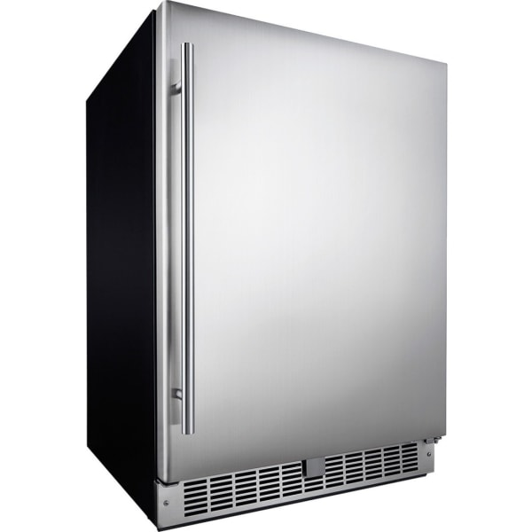 Silhouette Aragon Professional DAR055D1BSSPRO Refrigerator - 5.50 ft - Auto-defrost - 5.50 ft Net Refrigerator Capacity - 120 V AC - 278 kWh per Yea
