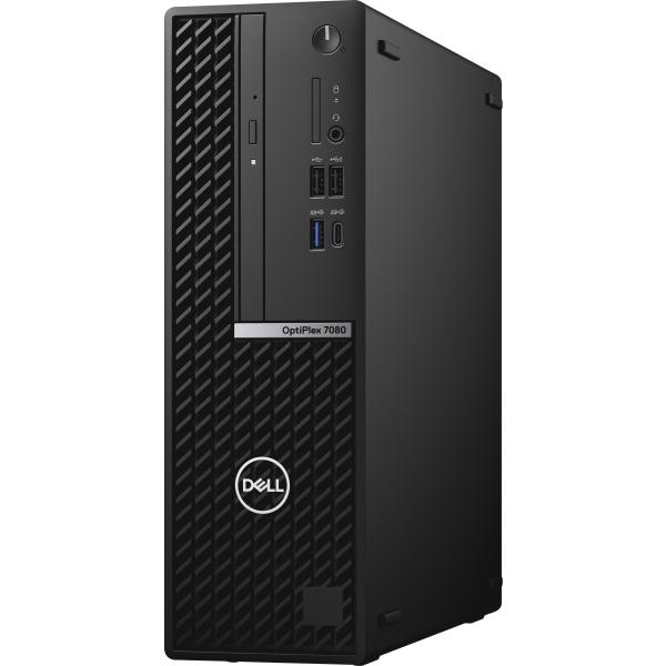 Dell OptiPlex 7000 7080 Desktop Computer - Intel Core i7 10th Gen i7-10700 Octa-core 8 Core 2.90 GHz - 16 GB RAM DDR4 SDRAM - 256 GB SSD - Small Form