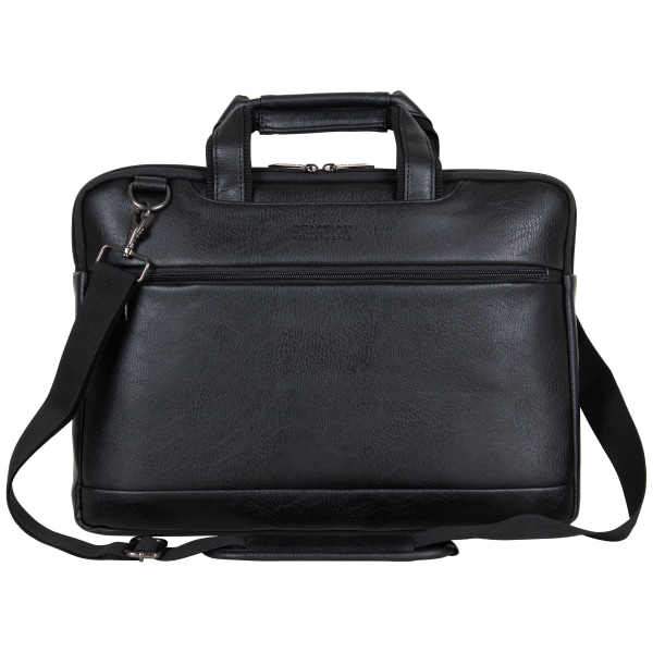 Kenneth Cole Reaction Slim Laptop Case For 16  Laptops, 11.5  x 15.75  x 1.5 , Black