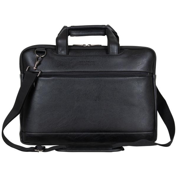 Kenneth Cole Reaction Slim Laptop Case For 16  Laptops, 11.5  x 15.75  x 1.5 , Black