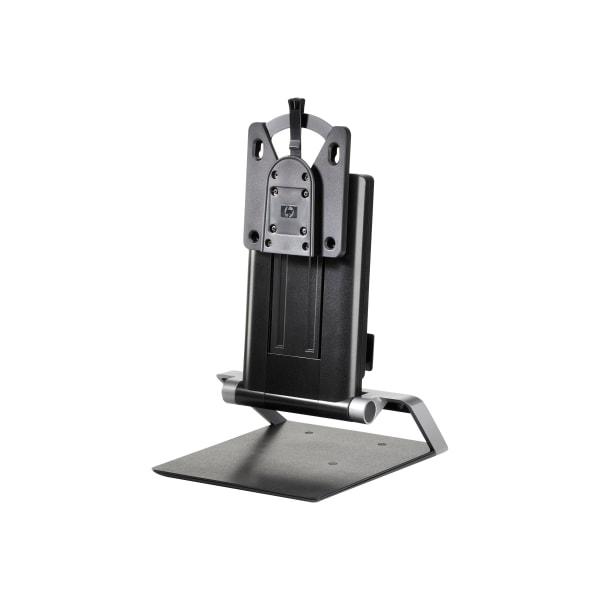 HP IWC Desktop Mini/Thin Client Computer Stand, 10.8 H x 16.2 W x 10.2 D, Black