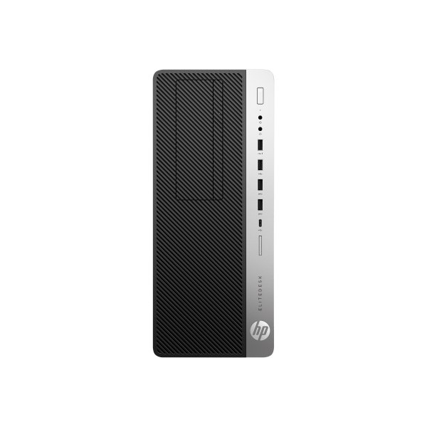 HP EliteDesk 800 G4 Desktop Computer - Intel Core i7 8th Gen i7-8700 3.20 GHz - 16 GB RAM DDR4 SDRAM - 512 GB SSD - Tower - Windows 10 Pro 64-bit - In