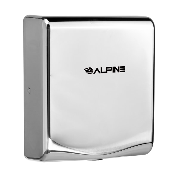 Alpine Willow Commercial High-Speed Automatic 120V Electric Hand Dryer, Chrome