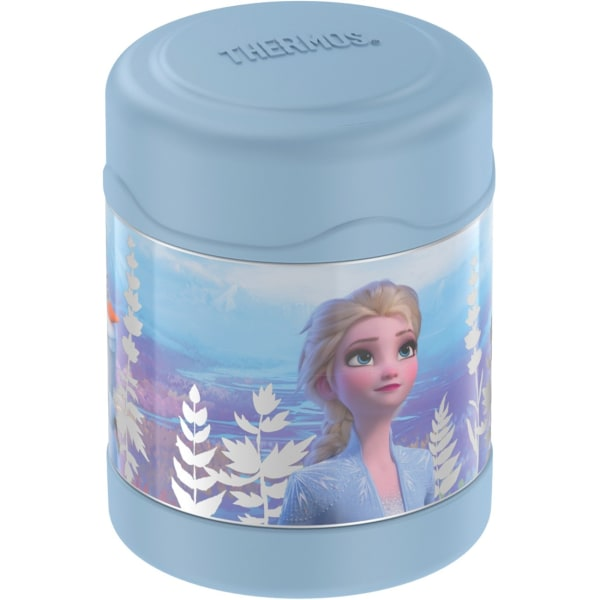 Thermos F30019FZM6 10-Ounce Frozen 2 FUNtainer Stainless Steel Food Jar - 10 fl oz - Soup, Food - Dishwasher Safe - Stainless Steel
