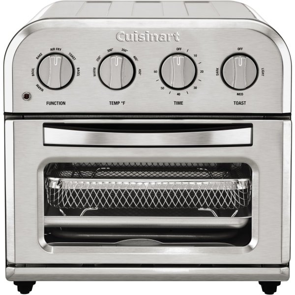 Cuisinart Compact Air Fryer Toaster Oven, Stainless Steel