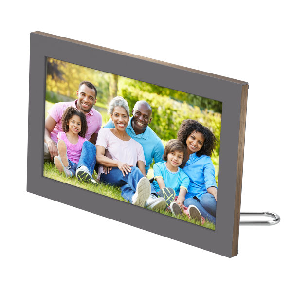 Netgear Meural Canvas II Digital WiFi Photo Frame, Silver