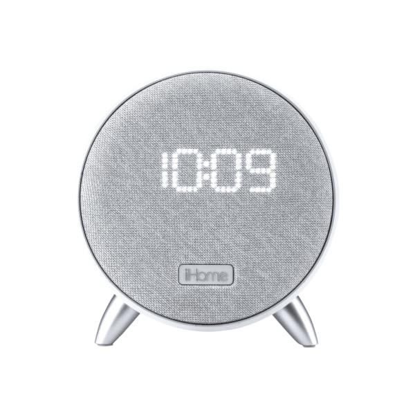 iHome iBT235W - Speaker clock - wireless - Bluetooth - white