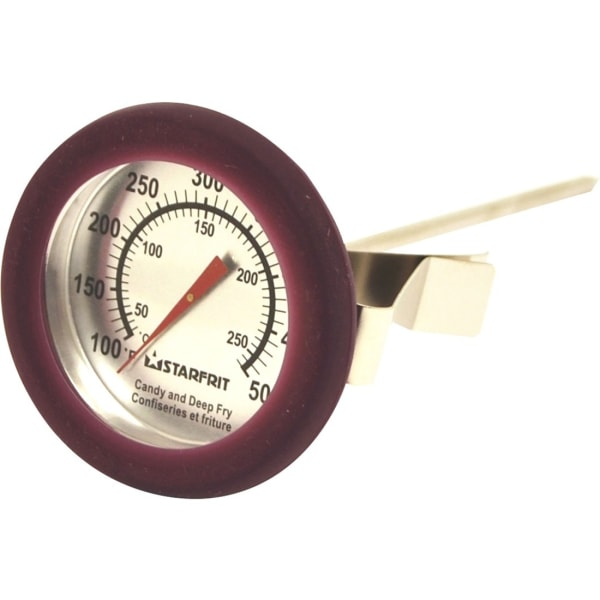 Starfrit Candy and Deep Fry Thermometer - 104F (40C) to 500F (260C) - Dishwasher Safe, Durable - For Pot