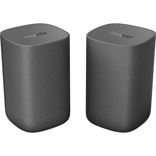 Roku Portable Bluetooth Speaker System - Black - Wall Mountable - Wireless LAN