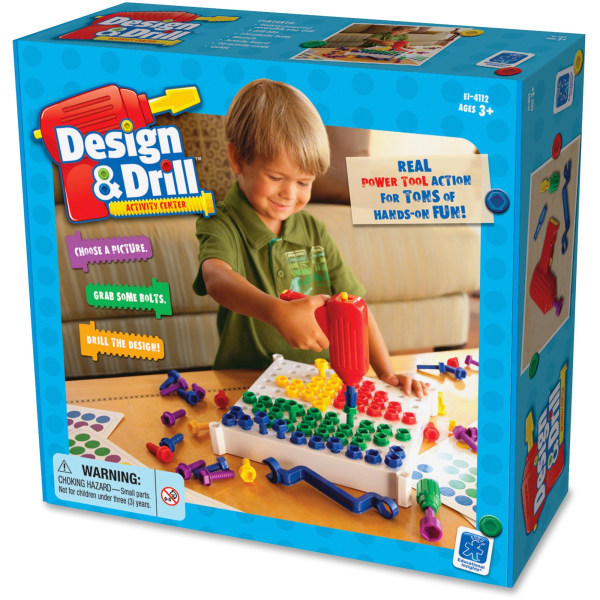Educational Insights� Design & Drill� Activity Center, Assorted Colors, Grades Pre-K - 5