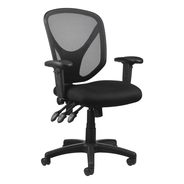 Realspace MFTC 200 Mesh Multifunction Ergonomic Mid-Back Task Chair