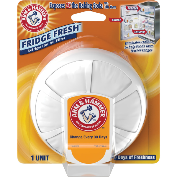 Arm & Hammer Fridge Fresh Refrigerator Filter - For Refrigerator - Remove Odor, Remove Dust