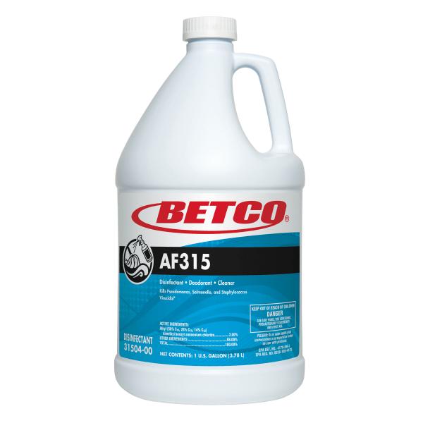 Betco� AF315 Disinfectant Cleaner, Citrus Floral Scent, 128 Oz Bottle, Case Of 4 -  3150400