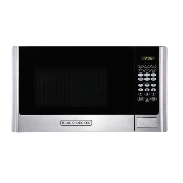Black & Decker EM925AME-P1 0.9 Cu Ft Microwave, Stainless Steel