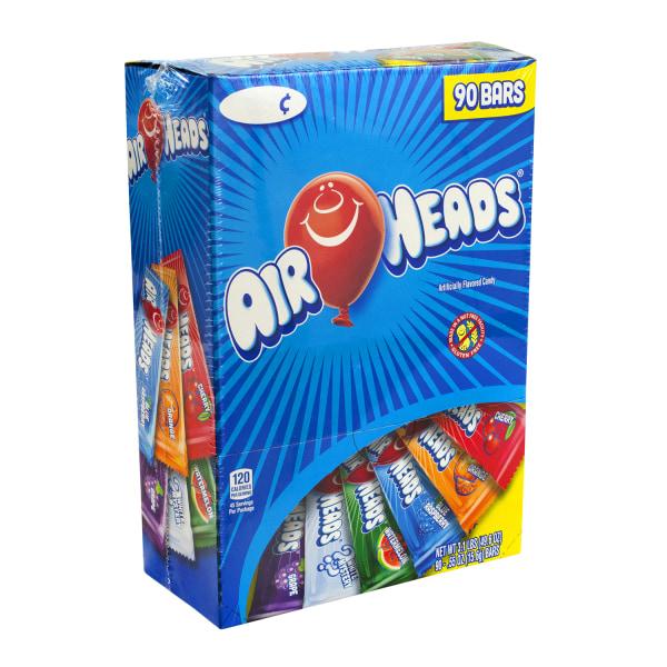 Airheads Variety Box, Pack Of 90 Bars