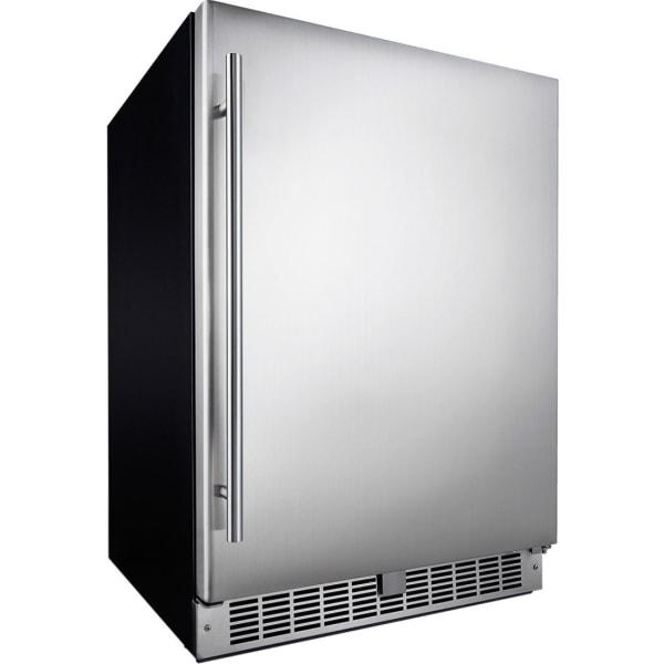 Silhouette Niagara 24  Integrated All Refrigerator - DAR055D1BSSPR - 5.50 ft - 5.50 ft Net Refrigerator Capacity - Stainless Steel - Smooth - Temper