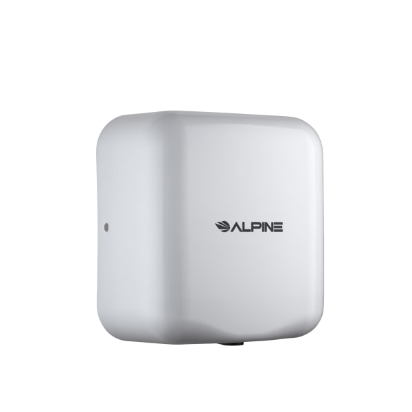Alpine Hemlock Commercial Automatic High-Speed 220V Electric Hand Dryer, White
