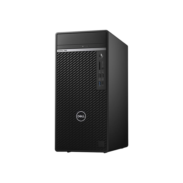 Dell OptiPlex 7000 7080 Desktop Computer - Intel Core i7 10th Gen i7-10700 Octa-core (8 Core) 2.90 GHz - 16 GB RAM DDR4 SDRAM - 512 GB SSD - Tower - W