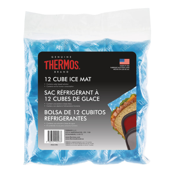 Thermos 12-Cube Ice Mat, Blue