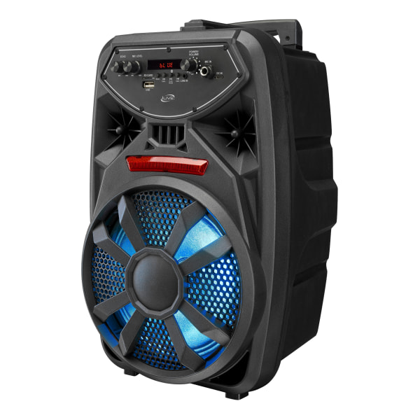 iLive Wireless Tailgate Party Speaker, Black