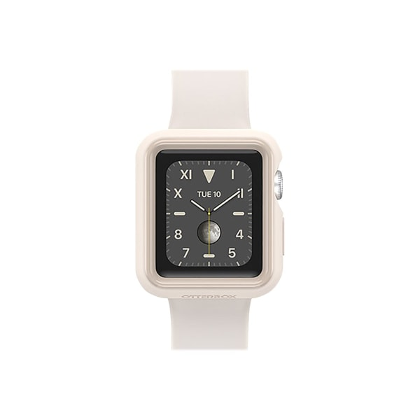 OtterBox EXO EDGE - Bumper for smart watch - polycarbonate, TPE - sandstone beige - for Apple Watch (38 mm)