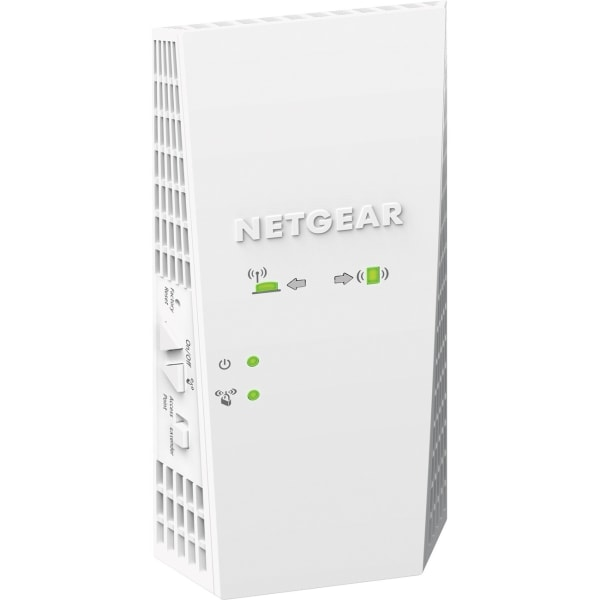 NETGEAR AC1900 Daul-band WiFi Mesh Range Extender, EX6400 - 5 GHz, 2.40 GHz - 1 x Network (RJ-45) - Ethernet, Fast Ethernet, Gigabit Ethernet - Wall M
