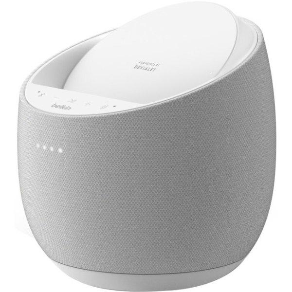 Belkin SOUNDFORM ELITE G1S0001TT-WHT Bluetooth Smart Speaker - Google Assistant Supported - White - 40 Hz to 20 kHz - Wireless LAN
