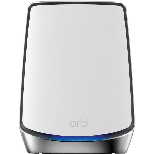 NETGEAR Orbi RBS850 - Wi-Fi range extender - 4 ports - GigE, 802.11ax - Wi-Fi - 2.4 GHz (1 band) / 5 GHz (2 bands) - desktop