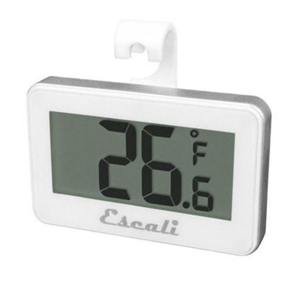 Escali Digital Refrigerator/Freezer Thermometer, -4 - 122F