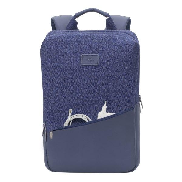 RIVACASE Egmont 7960 Backpack For 15.6  MacBook Pro Laptops, Blue