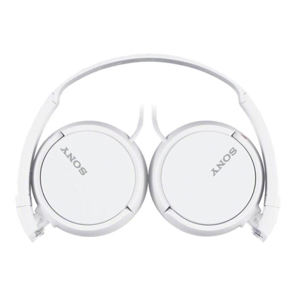Sony Studio Monitor On-Ear Headphones, White, ZX110WHI