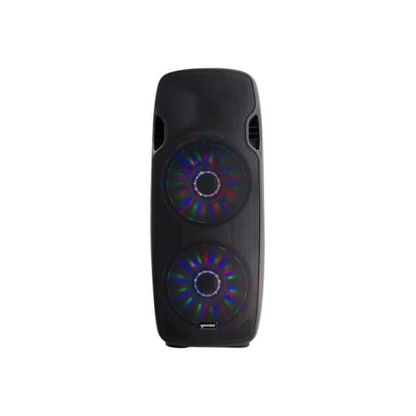 Gemini AS-215BLU-LT - Speaker - for PA system - wireless - Bluetooth - 2-way