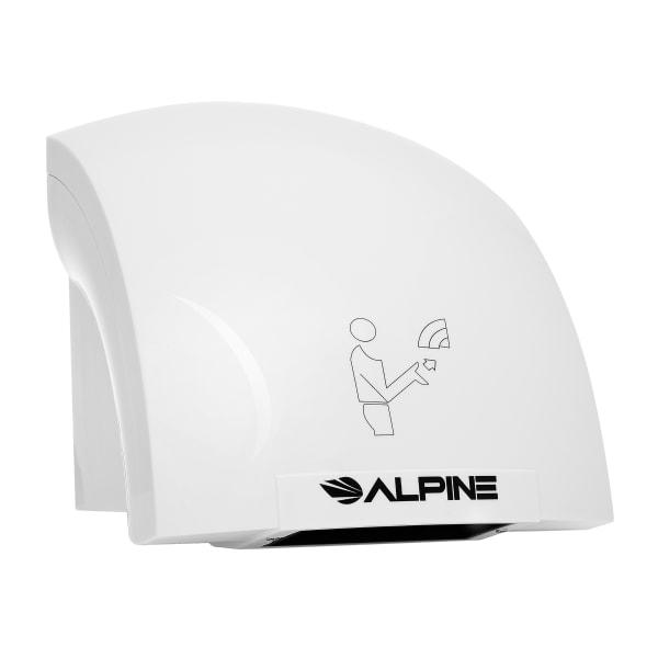 Alpine 110-Volt/120-Volt Hazel Automatic Electric Hand Dryer, White